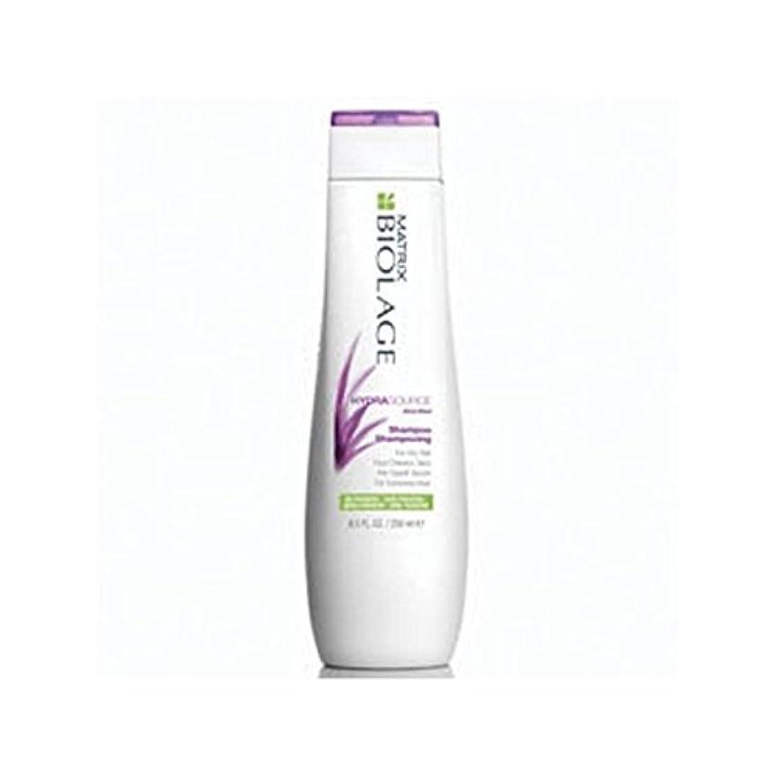 意気消沈した無意味撤退Matrix Biolage Hydrasource Shampoo (250ml) - マトリックスバイオレイジのシャンプー(250ミリリットル) [並行輸入品]