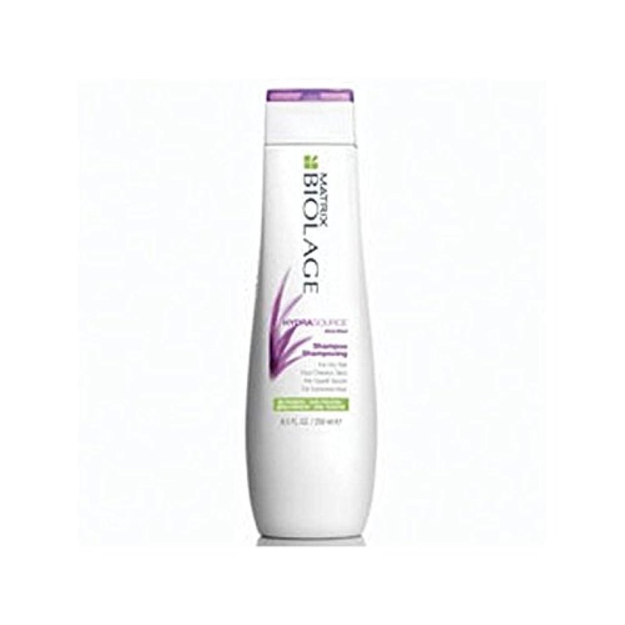 順応性硬化する春マトリックスバイオレイジのシャンプー(250ミリリットル) x4 - Matrix Biolage Hydrasource Shampoo (250ml) (Pack of 4) [並行輸入品]