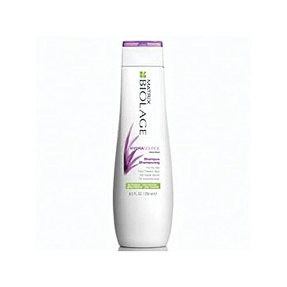 カストディアンポスト印象派粘土マトリックスバイオレイジのシャンプー(250ミリリットル) x4 - Matrix Biolage Hydrasource Shampoo (250ml) (Pack of 4) [並行輸入品]