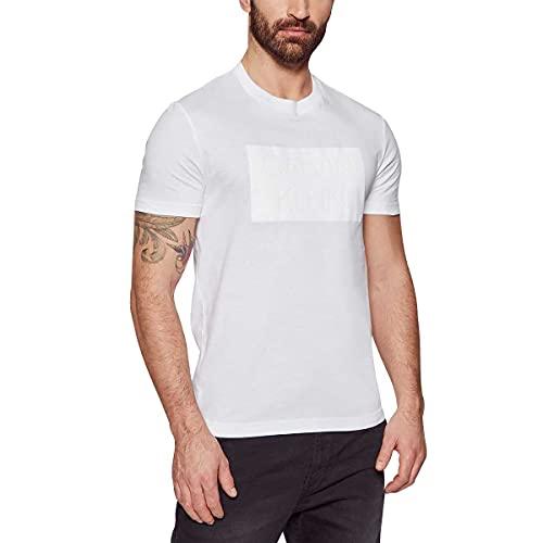 Calvin Klein K10K106496YAF BIA T-Shirt Uomo Uomo Bianco M