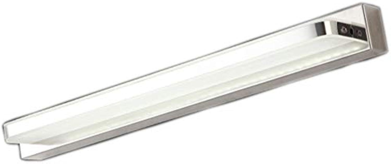 CCSUN Acryl Led spiegelbeleuchtung, IP44 Modren Led spiegelleuchte badlampe Energieeinsparung Eitelkeit lichter für spiegel - 40cm(15.7 in)-8W weies Licht