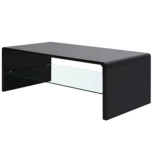 High Gloss Coffee Table Black