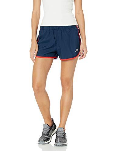 adidas Damen Marathon 20 Shorts, Damen, Marathon 20 Short Champion Women, Collegiate Marineblau, XX-Small 4