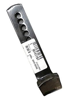 John Deere skid shoe set of two M147167 fits blades and snowblowers 445 F935 LX277 LT133 X300