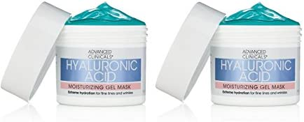 Advanced Clinicals Hyaluronic Acid Moisturizing Gel Mask with soothing chamomile Extreme hydration product image