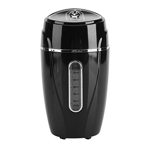 YJZO Humidificador Mini USB Oficina de Coche Humidificador ultrasónico Ajustable Purificador de Aire Difusor de Aroma Fabricante de Niebla(Negro)