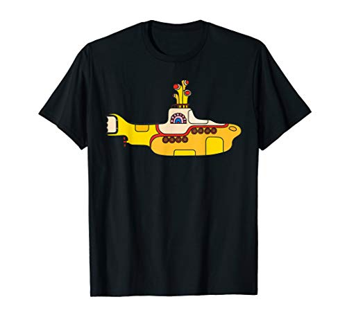 披头士黄潜艇艺术T恤