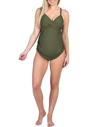 Lantra Besa Badmode Tankini voor Zwangere Vrouwen Zomer Zwemmen (Type 1-6)