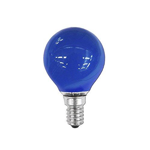clar-leuci–Glühlampe Kerze blau 25W 230V E -