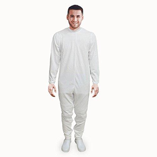 Pijama antipañal de sarga (verano) manga y pierna larga | Talla L