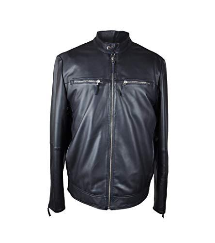 Zerimar Jacke Herren   Lederjacke Herren   Lederjacke für Männer   Lederjacke Lang Herren   Jacke Herren   Jacke Herren Leder
