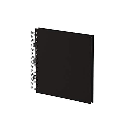 Rössler Soho - Álbum de fotos con espiral (180 x 180mm, 60 hojas), color negro 🔥