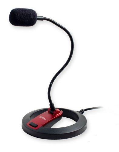 Syba CL-ME-606 - Micrófono (60 Db, 100-16000 Hz, Omni, Alámbrico, 2m)