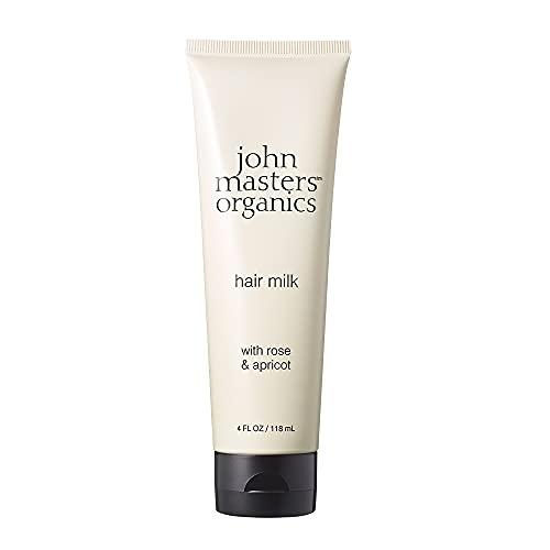 ジョンマスターオーガニック(johnmastersorganics)R&AヘアミルクN(ローズ&アプリコット)トリートメント118mL
