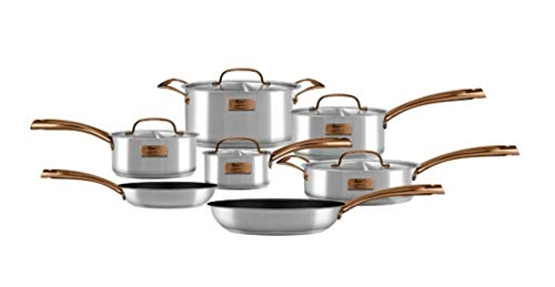 Fleischer and Wolf London Royalty 12-Piece Cookware Set