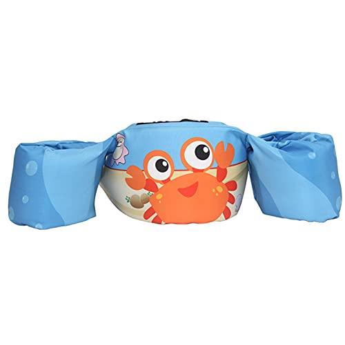 AIORNIY Kinder-Schwimmweste, Arm-Bänder Kinder-Schwimmweste,Kids Komfortables Styling Schwimmweste Jungen Und Mädchen Kleinkind Schwimmt Mit Schulter Arm Flügel Kinder