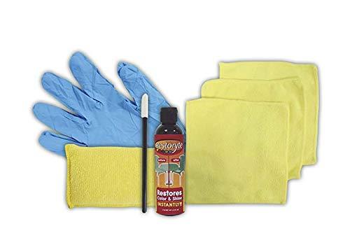 Best Direct Restoryte vloeistofset voor herstel met doeken en handschoenen repareren en beschermen van de kleur en de oorspronkelijke glans van oppervlakken