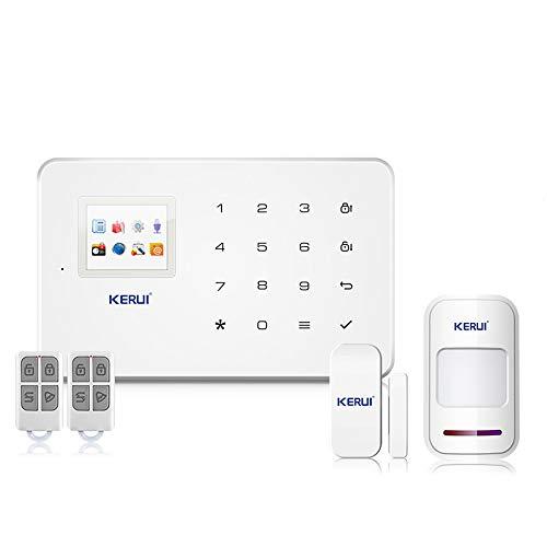 pas cher un bon KERUI G18 Android APP Contrôle sans fil iOS Système de sécurité GSM Alarme sans fil…