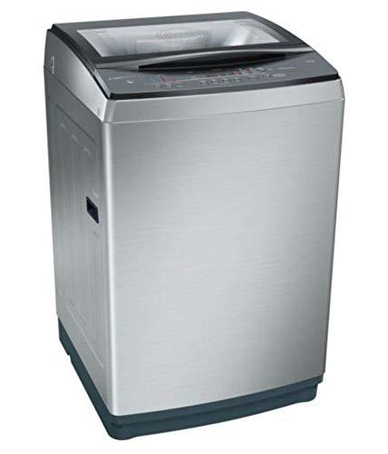 Bosch 7 kg Fully-Automatic Top Loading Washing Machine (WOE704Y1IN, Grey)