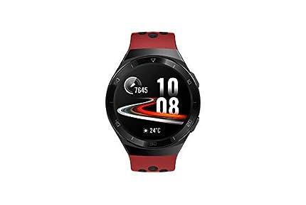 Huawei Watch GT 2e Sport - Smartwatch de AMOLED pantalla de 1.39 pulgadas, 2 semanas de batería, GPS, Rojo (Lava Red), 46 mm