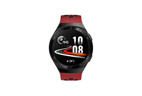 Huawei Watch GT 2e Sport - Smartwatch de AMOLED pantalla de 1.39 pulgadas, 2 semanas de batería, GPS, Color Rojo (Lava Red) 46 mm (55025280)