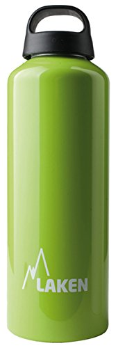 Laken Botella de Aluminio 1L Verde Classic (Boca Ancha)