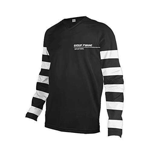 Uglyfrog 2019-2020 Rennrad Jersey Mountain Bike Motocross Downhill Enduro Cross Motorrad MTB Shirt Herren Long Sleeve Thermal MTB Winter Downhill Jersey DownKZR01