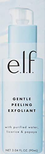 e.l.f. Gentle Peeling Exfoliant Enriched Face Cleanser, 3.04 Fl Oz