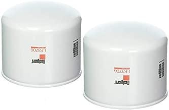 LF3706 Fleetguard Lube Filter Cummins Onan 122-0893, Kubota 1732132430, HH16432430 (Pack of 2)