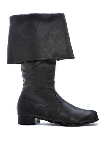 Hook Adult Costume Shoes Black - Medium