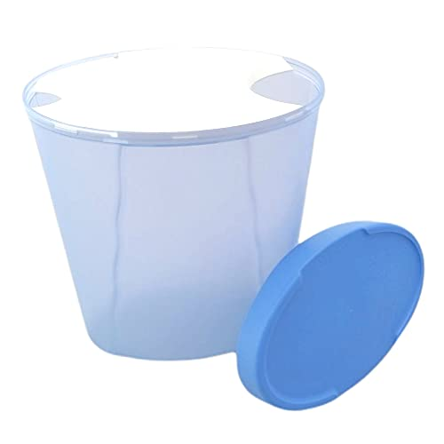 Tupperware Junge Welle Pasta-Center 2,5 L hell blau weiß Spaghetti Dose Nudeln Mehl Behälter Vorrat Modular
