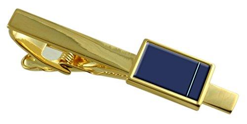 Select Gifts RAF Airforce Abzeichen Dienstgrad Pilot Officer Gold-ton Krawattenklammer Gravur Box