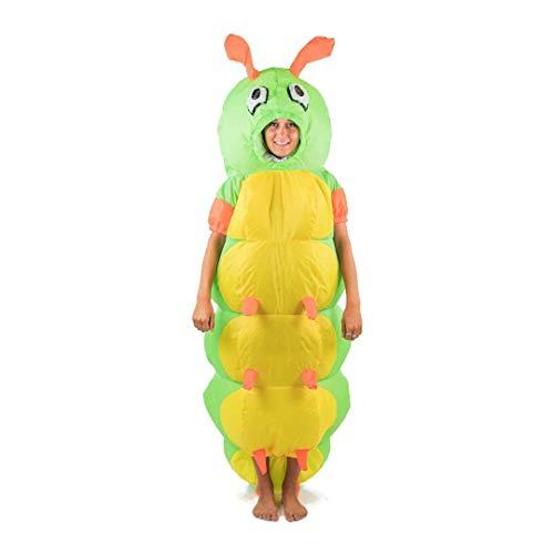 Bodysocks Fancy Dress Aufblasbares Raupe Kostüm