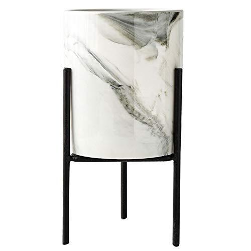 Gulin Marmor-Blumentopfhalter, Blumentopfständer aus Metall, Geeignet für Wohnzimmer Schlafzimmer Veranda