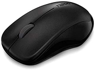 Rapoo 1620 Level 3 Key Wireless Mouse - Black