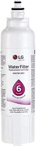 Filtro de agua para refrigerador LT800P- 6 meses/200 galones de repuesto (NSF42 y NSF53) LG Genune ADQ73613401, ADQ73613408 o ADQ75795104