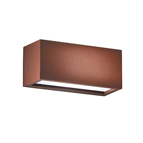 Rossini verlichting 10310-40 wandlamp, E27, 15 W, bruin