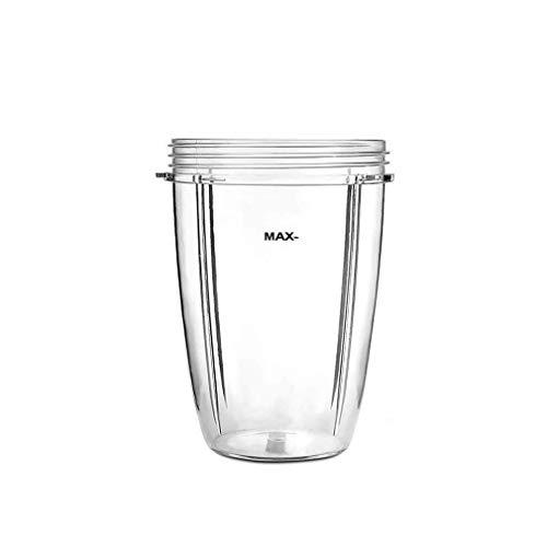 RUICHUANGS Entsafter Cups für NutriBullet Ersatzteile, 18OZ 24OZ 32OZ Klare Tassen Ersatzteile Becher für Nutribullet 600 und 900 Watt