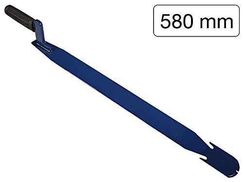Schiefer-Nageleisen Federstahl 580mm mit 3 Nagelziehern - zum Herausnehmen von Schiefernplatten