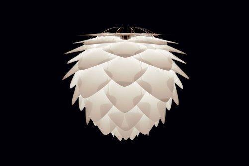 Umage/VITA Silvia Mini Hängeleuchte für A++ bis E inkl. Kabel und Fassung weiss 34 x 34 x 27 cm Lampe