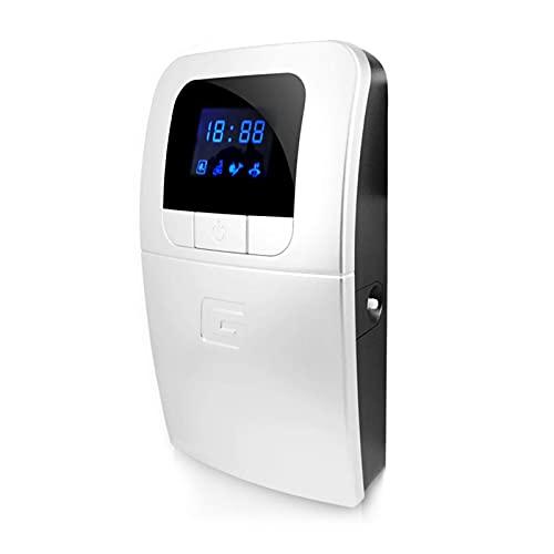 Generador de ozono Máquina de frutas y verduras de agua dulce Desintoxicación digital de ozono, para esterilizador de agua Esterilización de frutas y verduras Desinfectador de ozono, portátil