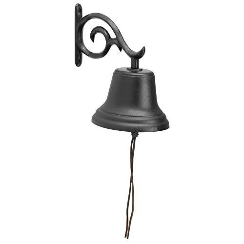 Whitehall Products Deko-Glocke, Größe M, Schwarz