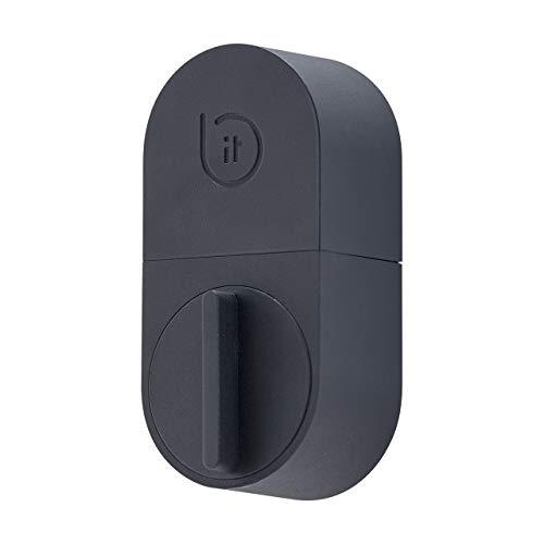 「bitlockLITE」ビットキーの国内販売No.1スマートロック【月額制/ビットロック/スマホでドアが開く/工事不要・取付カンタン/カギが送れる・ログがみれる/機種代+1年間利用パックでこのお値段/2年目以降月額360円の月額料金制】iOS11.0以上/Android7.0以上対応/現在Alexa未対応今後対応予定