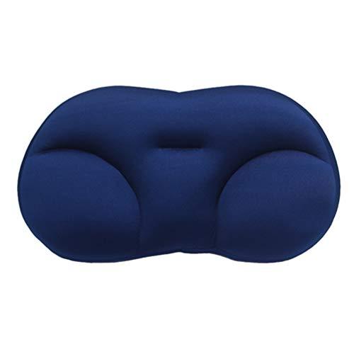 Akaly Fast Sleep Pillow,3D Multifunctional All-Round Comfortable Sleep Pillow (Azul)