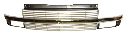 Sherman Replacement Part Compatible with Chevrolet Astro Van Grille Assembly (Partslink Number GM1200371)