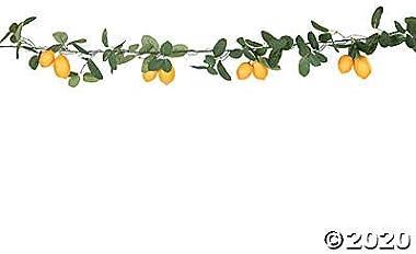 Artificial Lemon Garland (6 feet Long) Wedding and Home Decor
