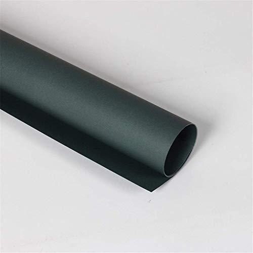 ZXL Gekleurd Handgemaakt Papier, Effen Kleur Boeket Inpakpapier Stage Prop Materiaal Papier Bruiloft Achtergrond Materiaal Papier (Kleur : H, Maat : 50 * 70CM)
