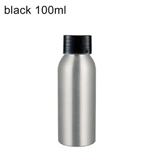 Lichtgewicht Aluminium Fles Opslag - Shampoo Lotion Vloeibare Cap Afdichting Sticker Container (40ml-250ml)
