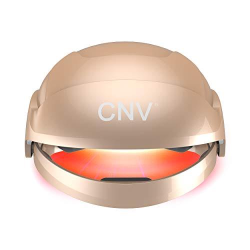 Dispositivo de regeneración capilar con láser para hombres y mujeres, casco, gorra y sombrero para regeneración del cabello, para tratamientos de pérdida de cabello (ORO)