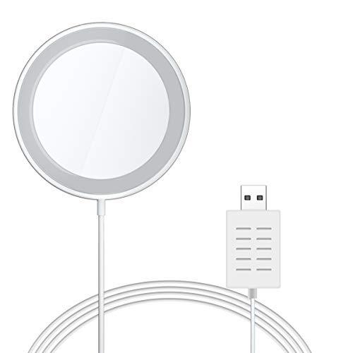 AICase Kompatibel Magnetische ladegerät Phone,Magnetisches Kabelloses Wireless Charger für Phone 12,12 Pro 12 Mini 11,11 Pro,11 Pro Max, AirPods, Galaxy S20 S10-1m